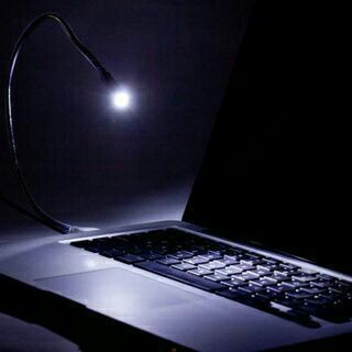 Flexible USB LED Light Lamp Nightlight for Notebook Laptop PC Tablets Computer