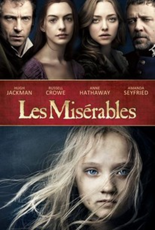 Les Miserables (2102) iTunes redeem Digital Movie USA