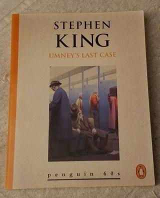 UMNEY'S LAST CASE : by Stephen King ( Mini Paperback )