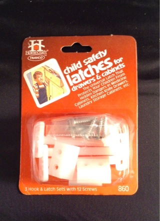 CHILD SAFETY LATCHES (Drawers and Cabinets)