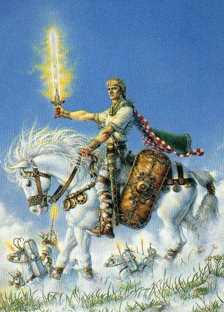 1996 Don Maitz Fantasy Art Trade Card: Riders of the Sidhe