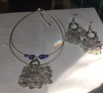 BN Heidi's Hand made with Love jewelry Set *Lowered GIN