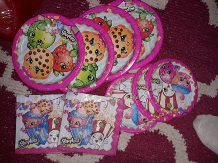 Shopkins party item