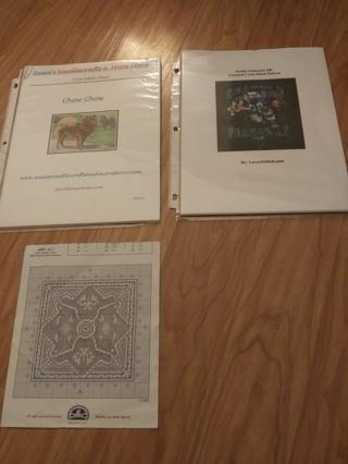 Cross stitch and crafts items