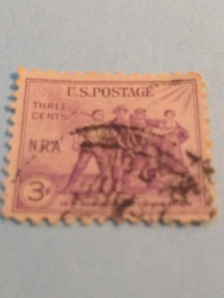 U.S. Postage Stamp ( NRA National Recovery Act )
