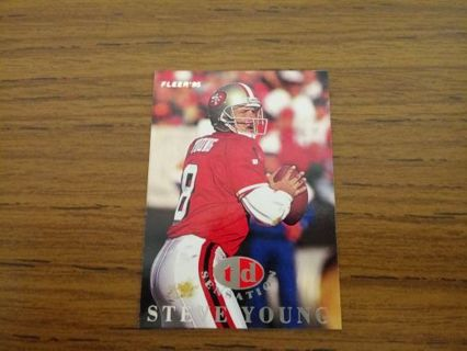 San Francisco 49ers - Steve Young trading card