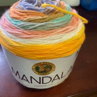 Lionbrand MANDALA Cupcake 5.3oz Acrylic Yarn.