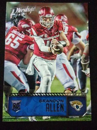 2016 Panini - Prestige Brandon Allen Football Card #213