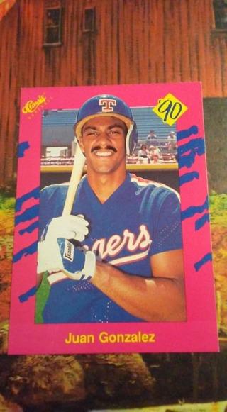 Juan Gonzalez Rookie Card