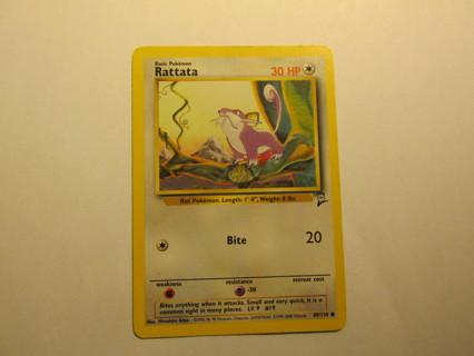 Pokemon Card - Rattata 89/130