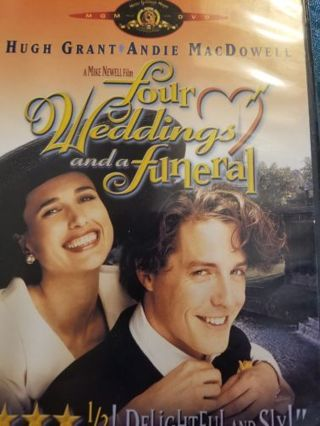 4 WEDDINGS AND A FUNERAL