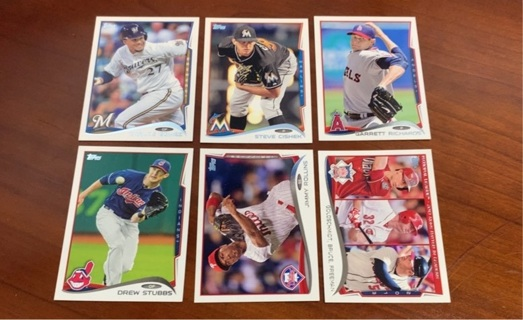 2014 Topps Baseball lot