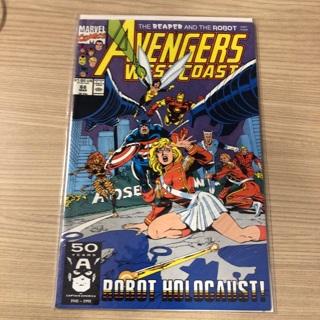 avengers west coast Issue # 68  marvel  1991