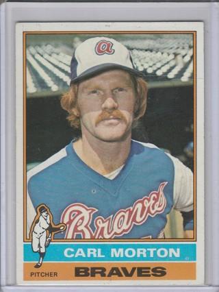 1976 TOPPS CARL MORTON CARD