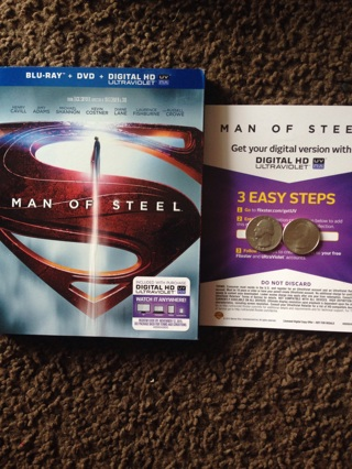 Man Of Steel Code Only