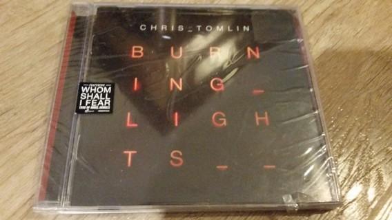 NEW Chris Tomblin CD -Burning Lights