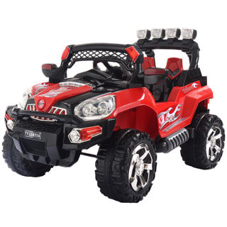 12V Kids Ride On Truck Car SUV MP3 RC Remote Control w/ LED Lights Music