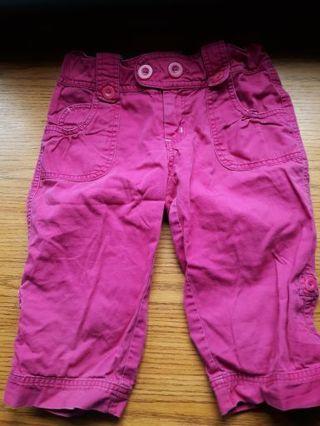 OP hot pink capris girls Size 10