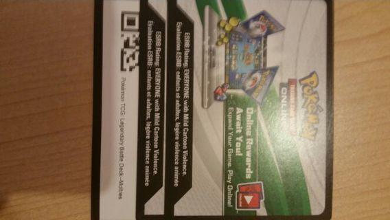 Pokemon TCGO legendary battle deck- Moltres