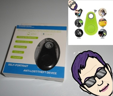 Bluetooth Tracker Anti-Theft Device