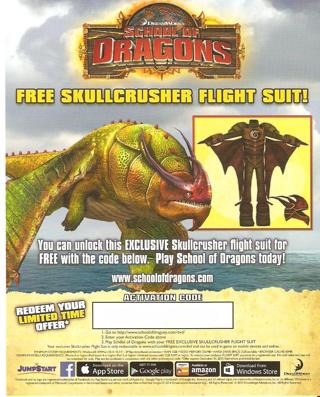 Free how to train your dragon 2 school of dragons free skullcrusher free how to train your dragon 2 school of dragons free skullcrusher flight suit code ccuart Image collections