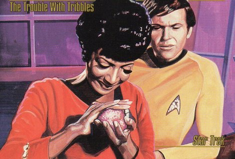 1993 Star Trek Collectible/Trade Card: The Trouble with Tribbles