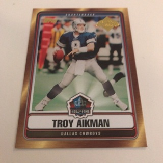 2006 Topps Troy Aikman Class Of 2006 Insert Card