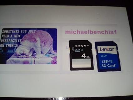 Sony 4GB SD Card