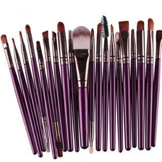 Set of 20 make-up brushes! free shipping!