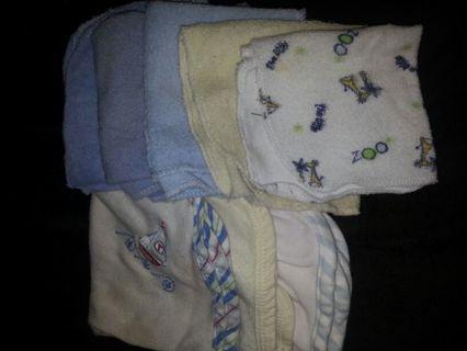 8 Baby wash clothes