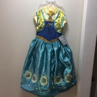 Girls Size 5-6 Disney Frozen Character Dress Costume