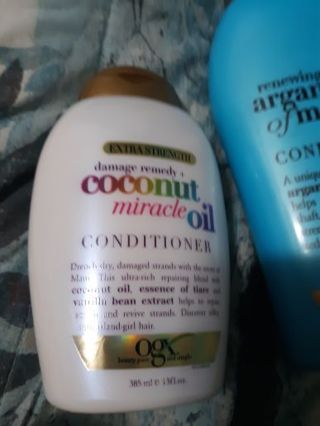 Two OGX Conditioners