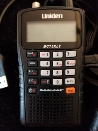 Uniden Bearcat BC75XLT Handheld Scanner