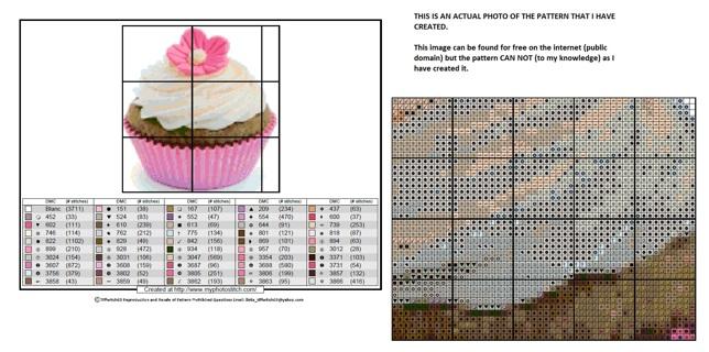 Cupcakes Cross Stitch Patterns ***WINNERS CHOICE***
