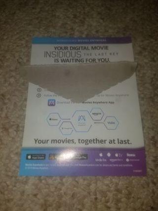 Insidious: Last Key digital movie
