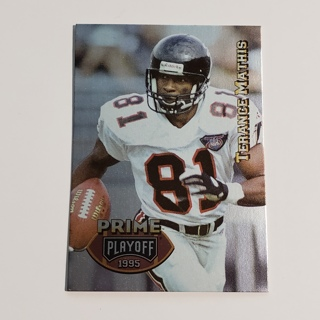 Terance Mathis 1995 Playoff Prime #27 Falcons