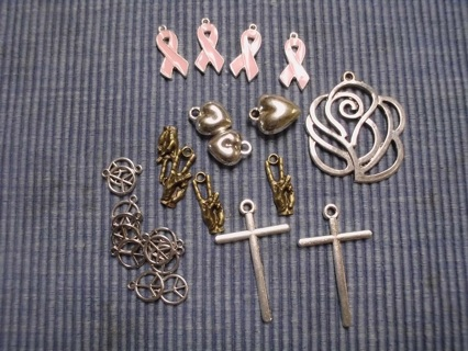 Mixed lot of Charms and Pendants