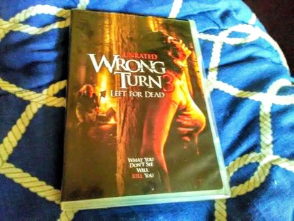 Wrong Turn 3 - dvd - Horror - unrated