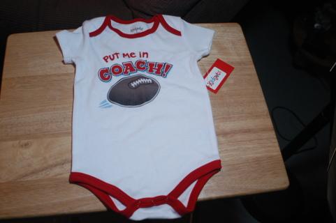 New Baby Boys Onsie Put Me In Coach!