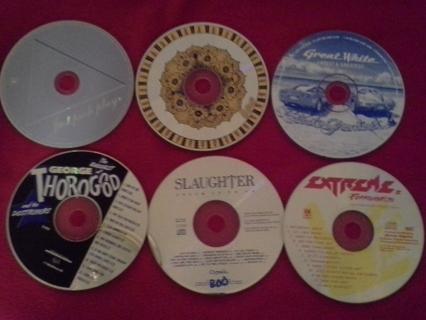 LOT OF CD'S