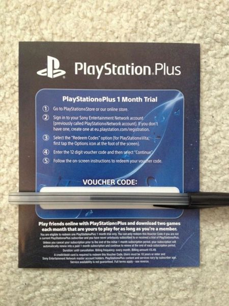 how to get playstation plus for 1 month
