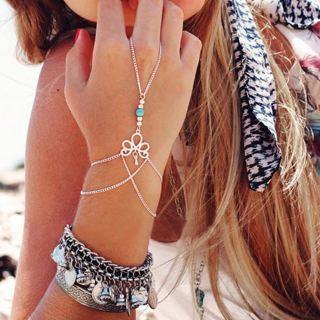 NEW Fashion bracelet slave finger bracelet chain bracelet gentle gift delivery FREE SHIPPING