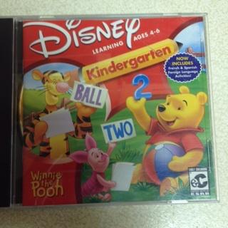Free: Walt Disney Learning kindergarten Computer Game - PC