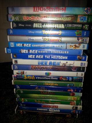 20Kid's dvd's.