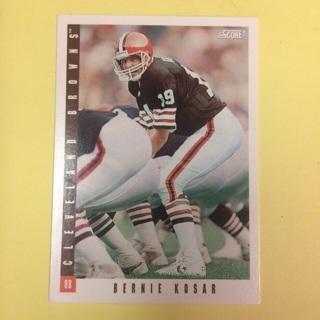 1993 Score #15 of 18 QB Bernie Kosar - Browns