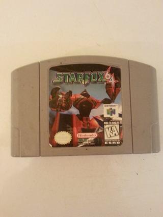 Nintendo 64 starfox64 games