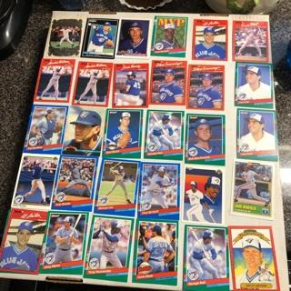 30+ vintage MLB Blue Jays Al Leiter, Fred McGriff, Bell & more Lot G-12 Jays