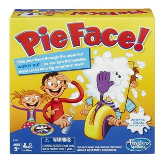 New Bestselling Hasbro Pie Face Game