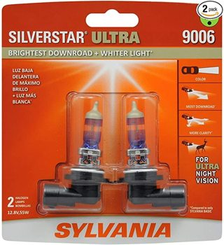 Selling Below Cost—SYLVANIA - 9006 SilverStar Ultra - High Performance Halogen Headlight Bulb...