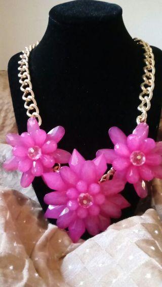 Gorgeous Fuscia Necklace
